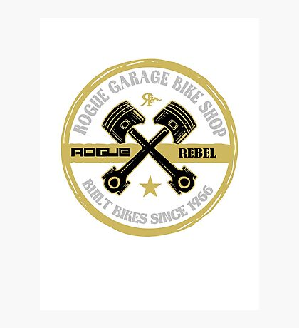 ROGUE GARAGE Photographic Print