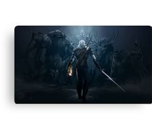 The Witcher - Artwork Canvas Print