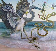 """""""Serpent and the Thistle""""  by Joe Helms"""