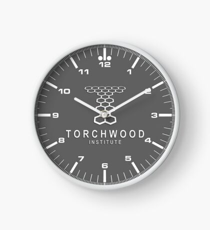 Torchwood Institute clock Clock