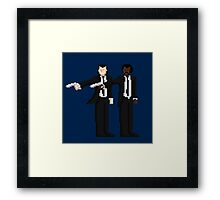 Vince & Jules Framed Print