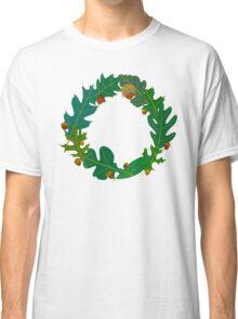 Oak Leaves and Acorns Classic T-Shirt