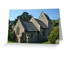The Church of St Mary the Virgin........ Greeting Card