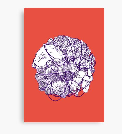 Stuff Canvas Print