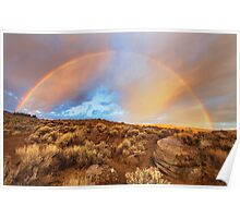 Sunrise Rainbow Poster