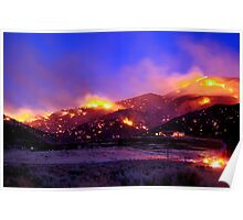 Palomino Valley Wild Fire (The Ironwood Fire) Poster