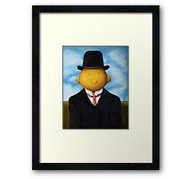 Lemon Head Framed Print