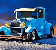 1928 Ford Model A Pickup by DaveKoontz