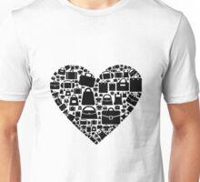 Bag heart Unisex T-Shirt