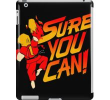 SURE YOU CAN! iPad Case/Skin