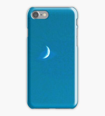 The Moon Waning Air Brushed iPhone Case/Skin