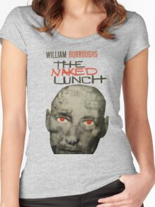 Naked Lunch - William Burroughs tribute Women's Fitted Scoop T-Shirt