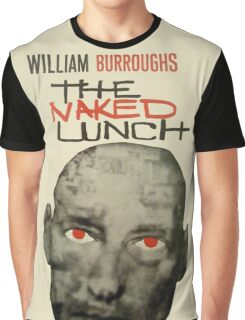Naked Lunch - William Burroughs tribute Graphic T-Shirt