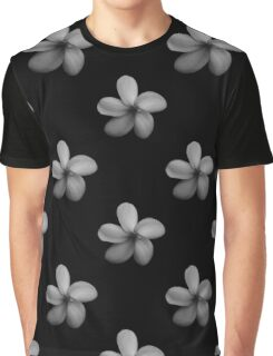 Black Floral Pattern (Goblin Children) Graphic T-Shirt