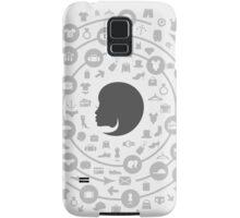 Clothes a circle Samsung Galaxy Case/Skin