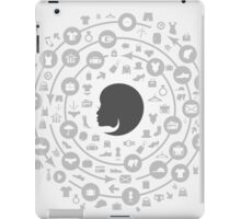 Clothes a circle iPad Case/Skin