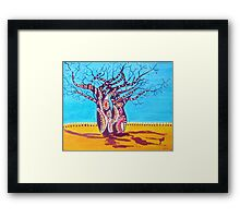 Happy Boabs Framed Print