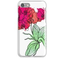 Pink orchids. iPhone Case/Skin
