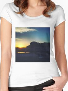 Gibraltar  Women's Fitted Scoop T-Shirt