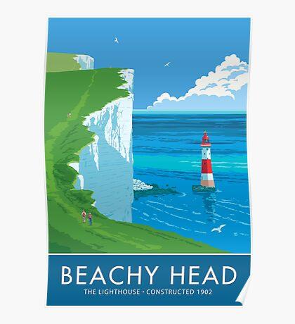 Beach Head Lighthouse Poster