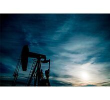 Oil Country Photographic Print