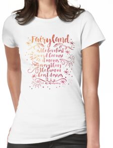 Fairyland Womens Fitted T-Shirt