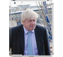 Mayor Boris Johnson marks Totally Thames with visit to TS Tenacious iPad Case/Skin