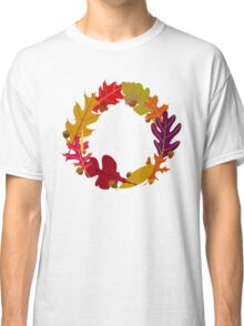 Autumn Oak Leaves and Acorns Classic T-Shirt
