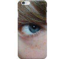 baby blue eyes iPhone Case/Skin