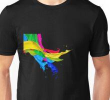 Cascade of Colors Unisex T-Shirt