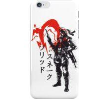 Traditional Soldier iPhone Case/Skin