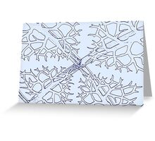 background in the sky Greeting Card