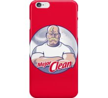 Major Clean iPhone Case/Skin