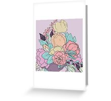 A Study In Rococo #5 Greeting Card