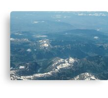 aerial view Canvas Print