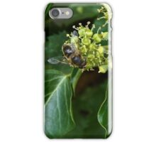Bee, Brambles and the countryside iPhone Case/Skin
