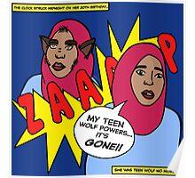 TEEN WOLF HIJABI Poster