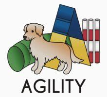 Golden Retriever Agility Cartoon Dog Kids Clothes