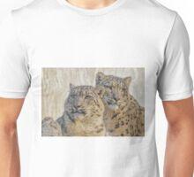 snow leopards Unisex T-Shirt