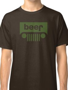 Drink beer in a truck or jeep. Classic T-Shirt