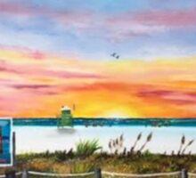 Sunset At Siesta Key Public Beach Sticker