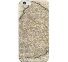Vintage Map of Barbados (1736)  iPhone Case/Skin