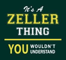 It's A ZELLER thing, you wouldn't understand !! by satro