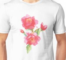 Water Color Roses Unisex T-Shirt