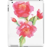 Water Color Roses iPad Case/Skin