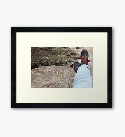 Little Adventurer Framed Print