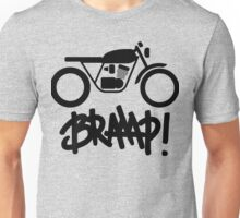 Motorcycle Braaap Cafe Racer Unisex T-Shirt