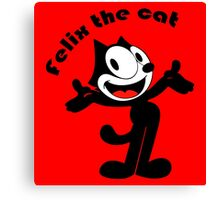 Felix The Cat - Cartoon Canvas Print