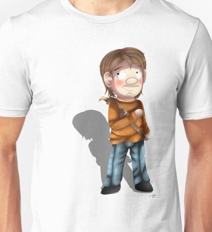 Cartoon Luke The Walking Dead Game Unisex T-Shirt