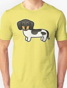 Black And Tan Piebald Smooth Coat Dachshund T-Shirt